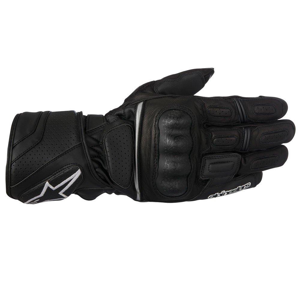 Pánské kožené rukavice Alpinestars SP-Z Drystar (černá) S