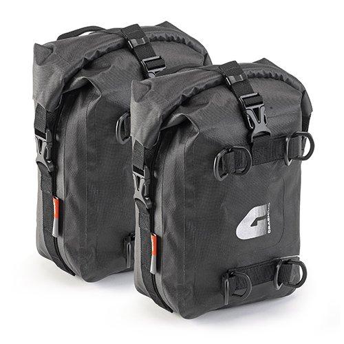 Voděodolné boční tašky s rolovacím uzávěrem GIVI T513 (2x5 lt)