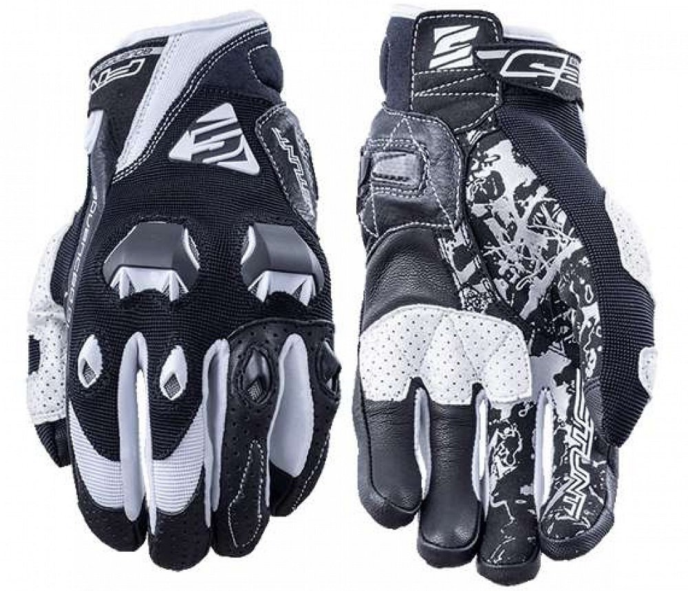 Five STUNT EVO AIRFLOW black/white M