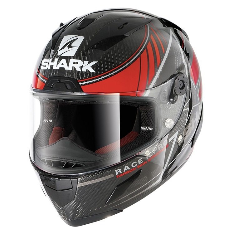 Shark Race-R Pro Carbon Kolov /red/silver M (57/58)