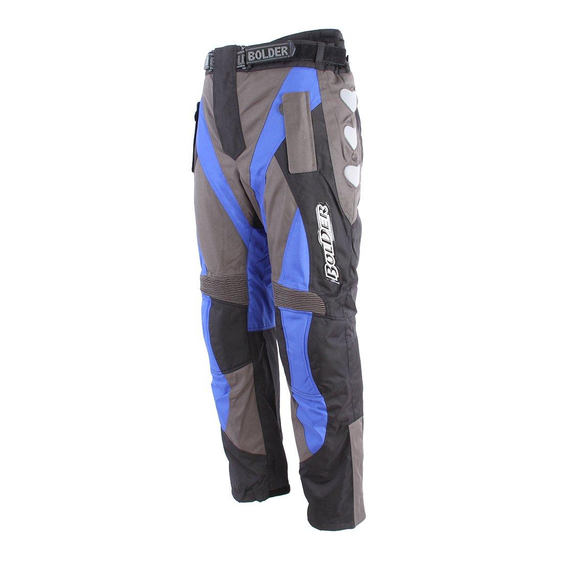 Pánské textilní kalhoty BOLDER Enduro 2066 (šedo/modré) L
