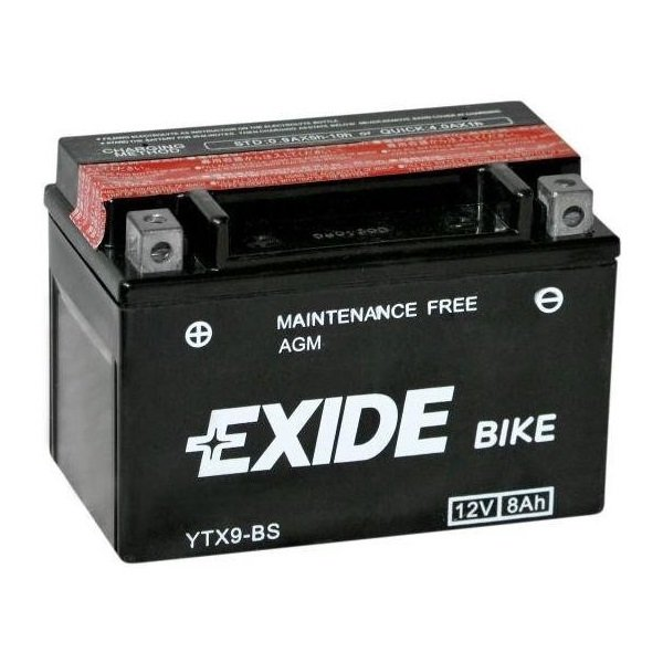 Exide YTX9-BS, ETX9-BS