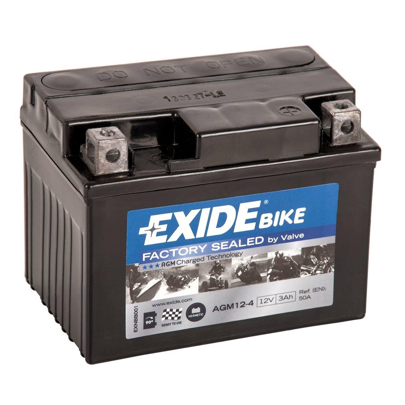 Exide AGM12-4