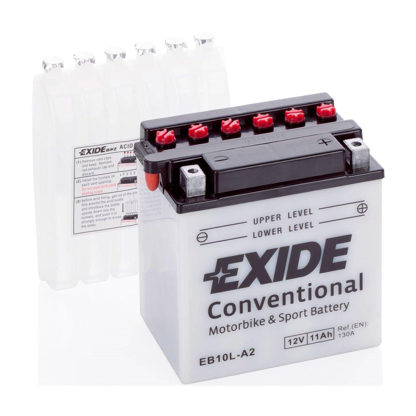 Exide YB10L-A2, EB10L-A2