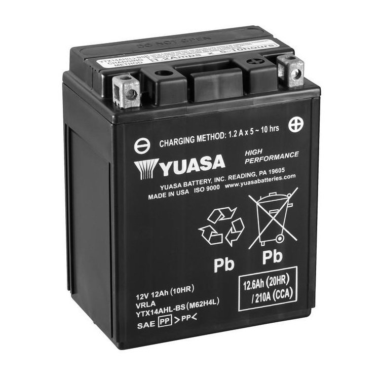 Yuasa / Toplite YTX14AHL-BS