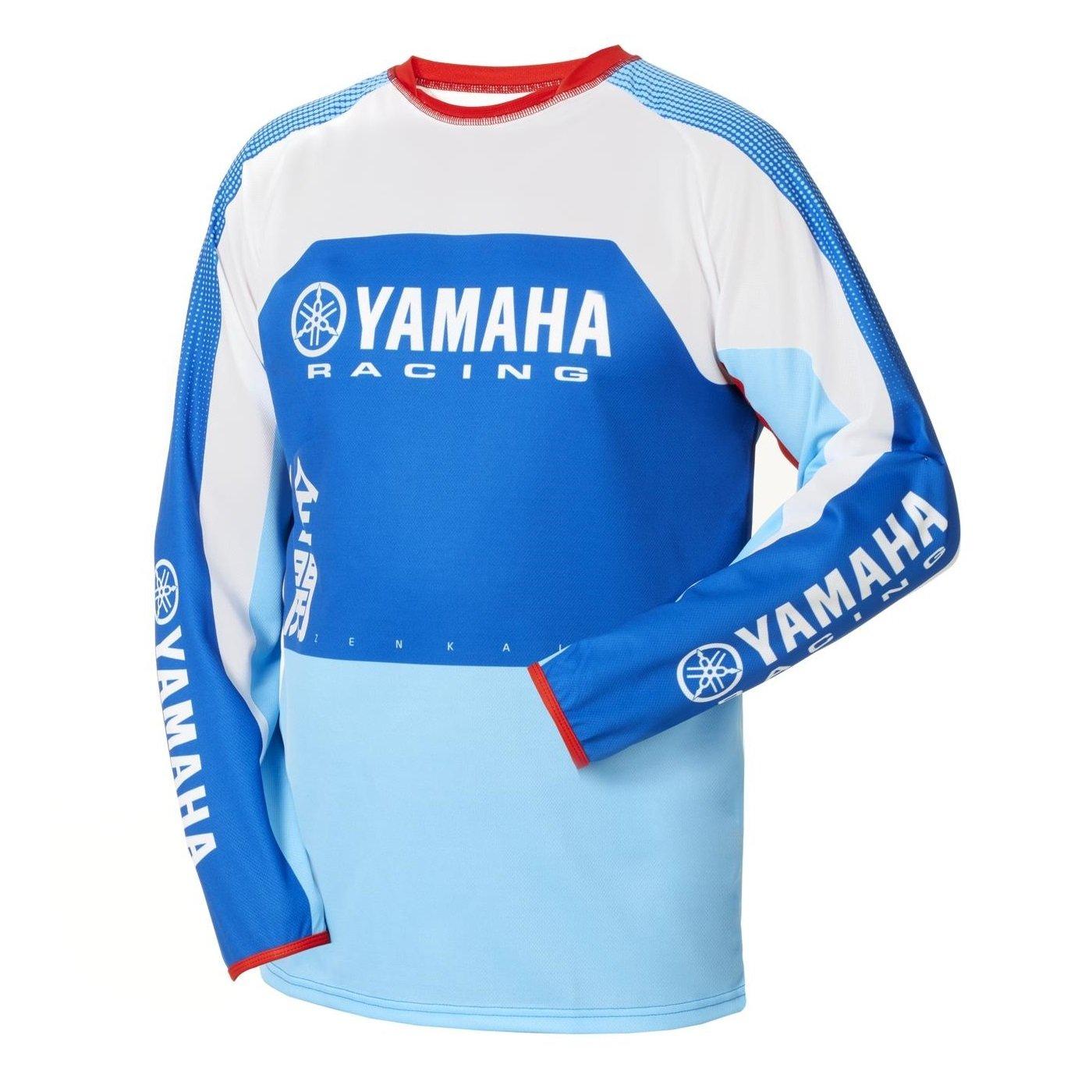 Yamaha Dres MX Zenkai modrá S
