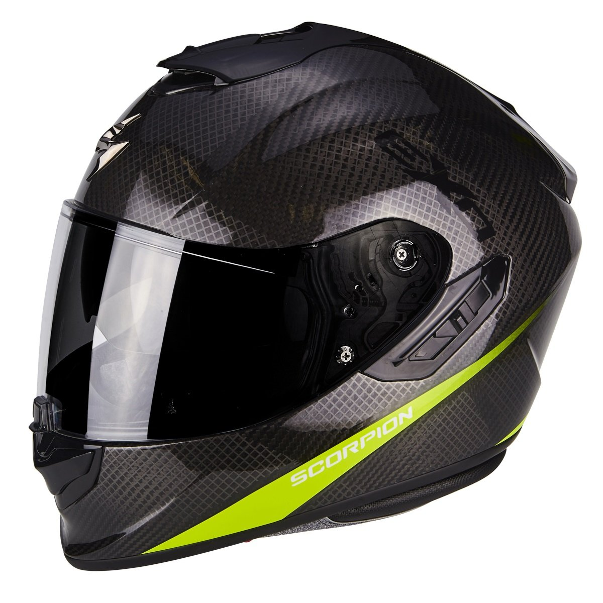 Scorpion EXO 1400 AIR Carbon Pure žlutá L (59/60)
