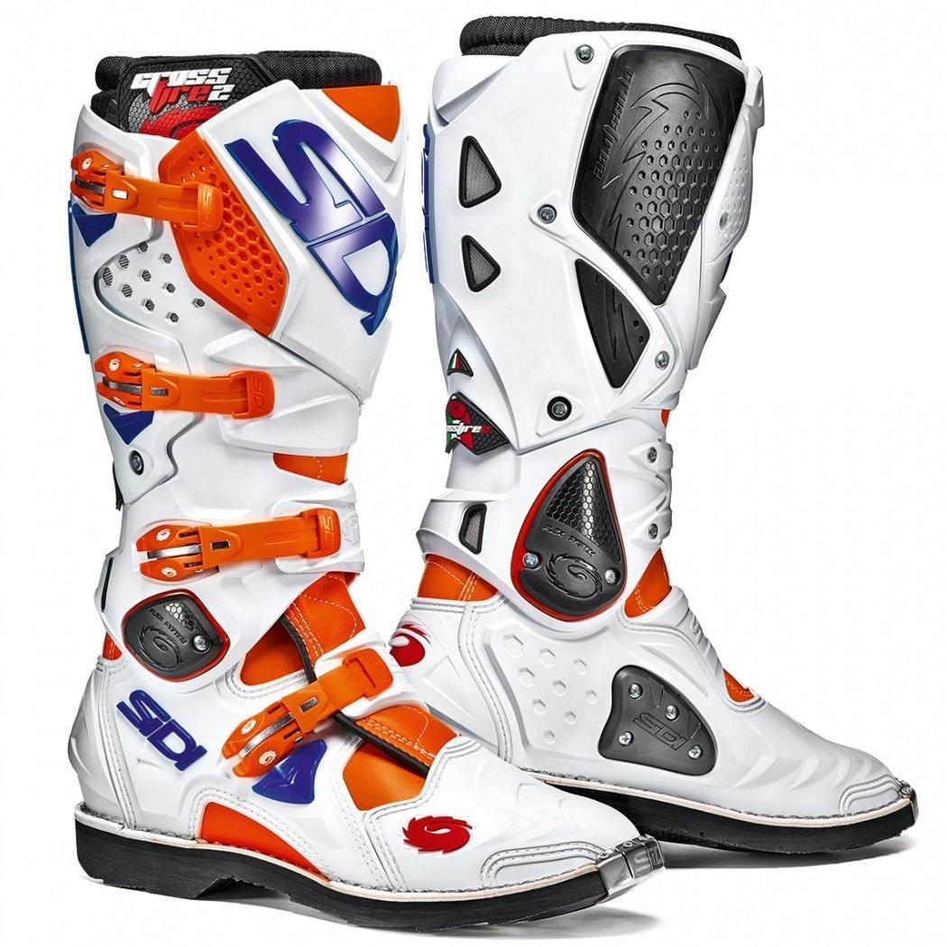 Sidi Crossfire 2 oranžová/bílá/modrá 40