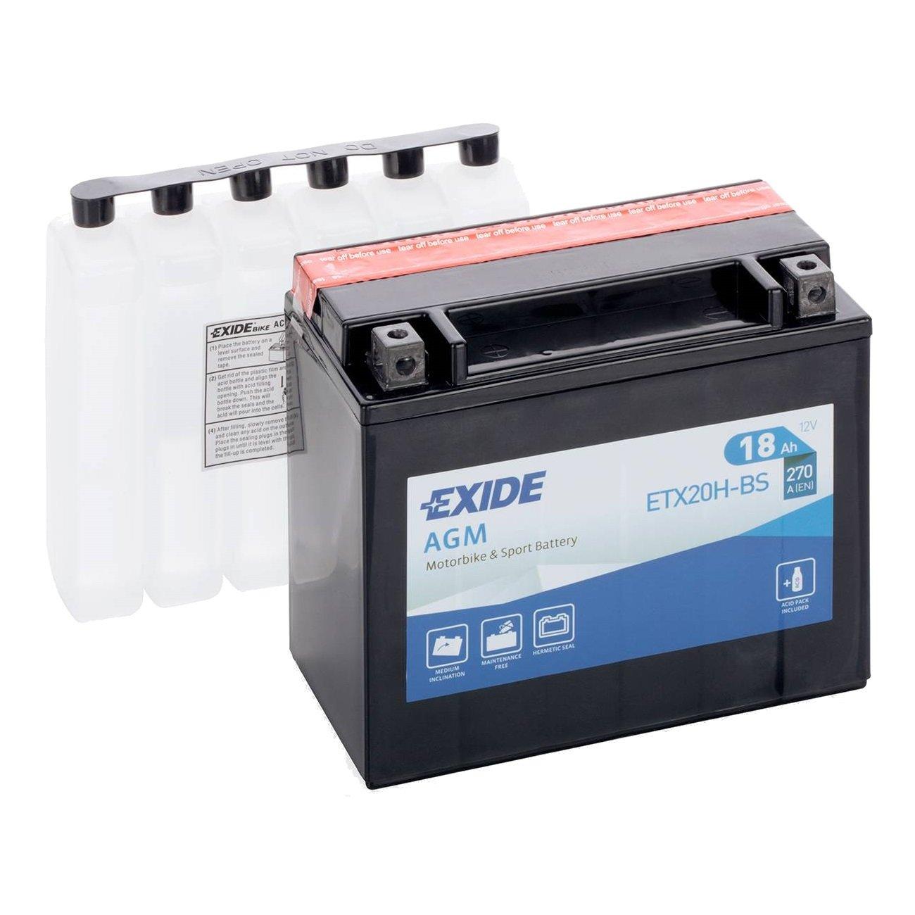 Exide YTX20H-BS, ETX20H-BS