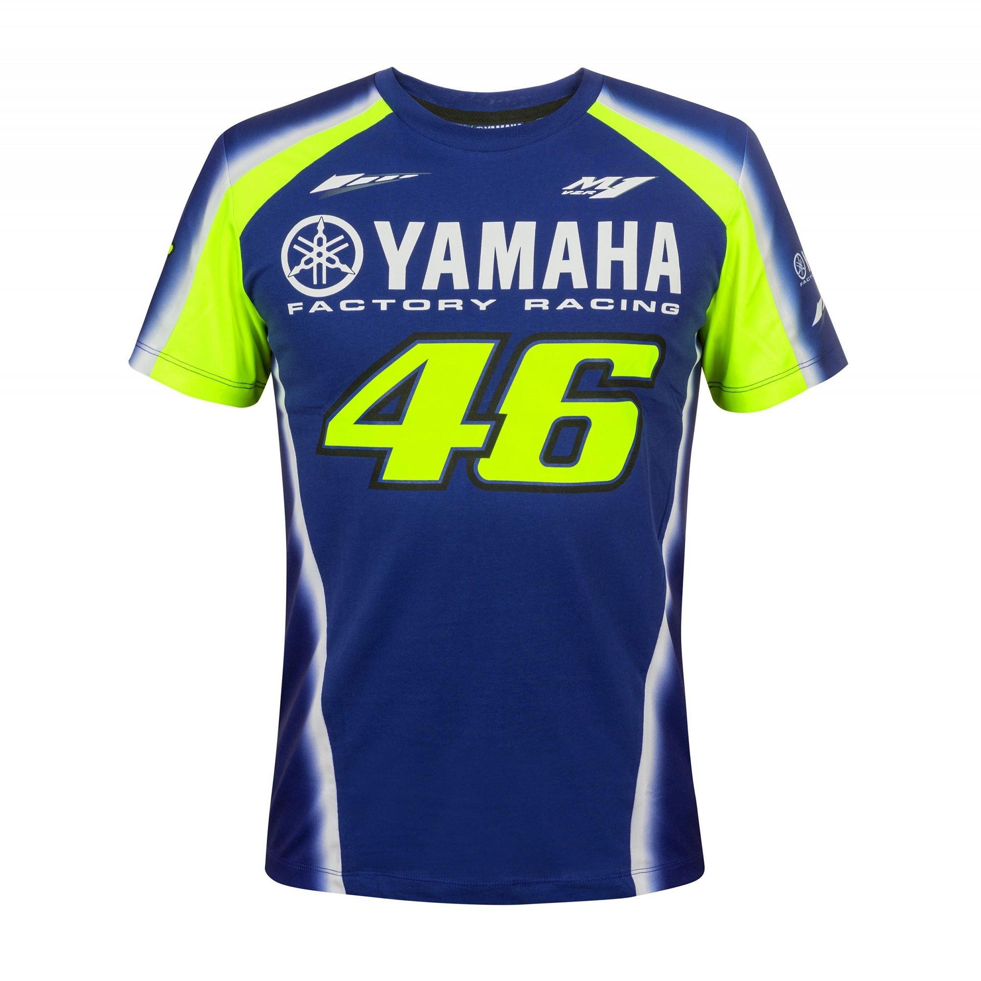 VR46 pánské triko Yamaha 2018 modrá XL 736963895b7