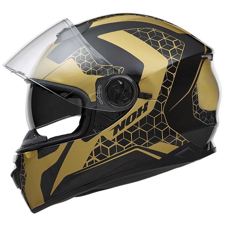 Nox N301 Steel zlatá/černá matná L (59/60)