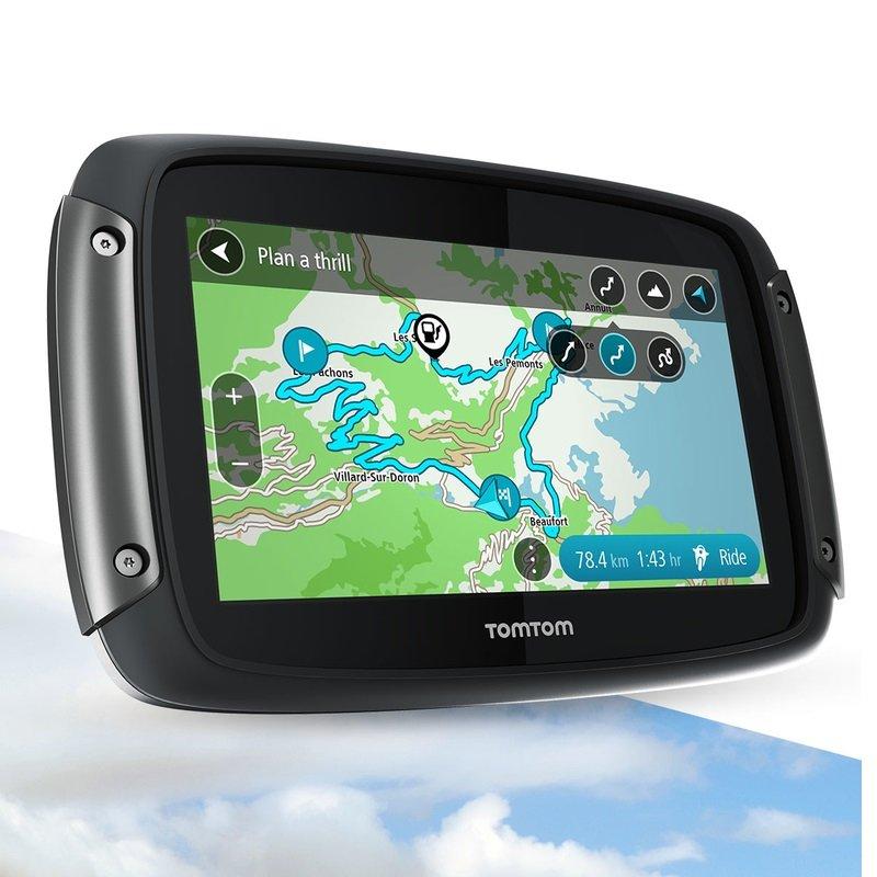 TomTom Rider 550 GPS navigace