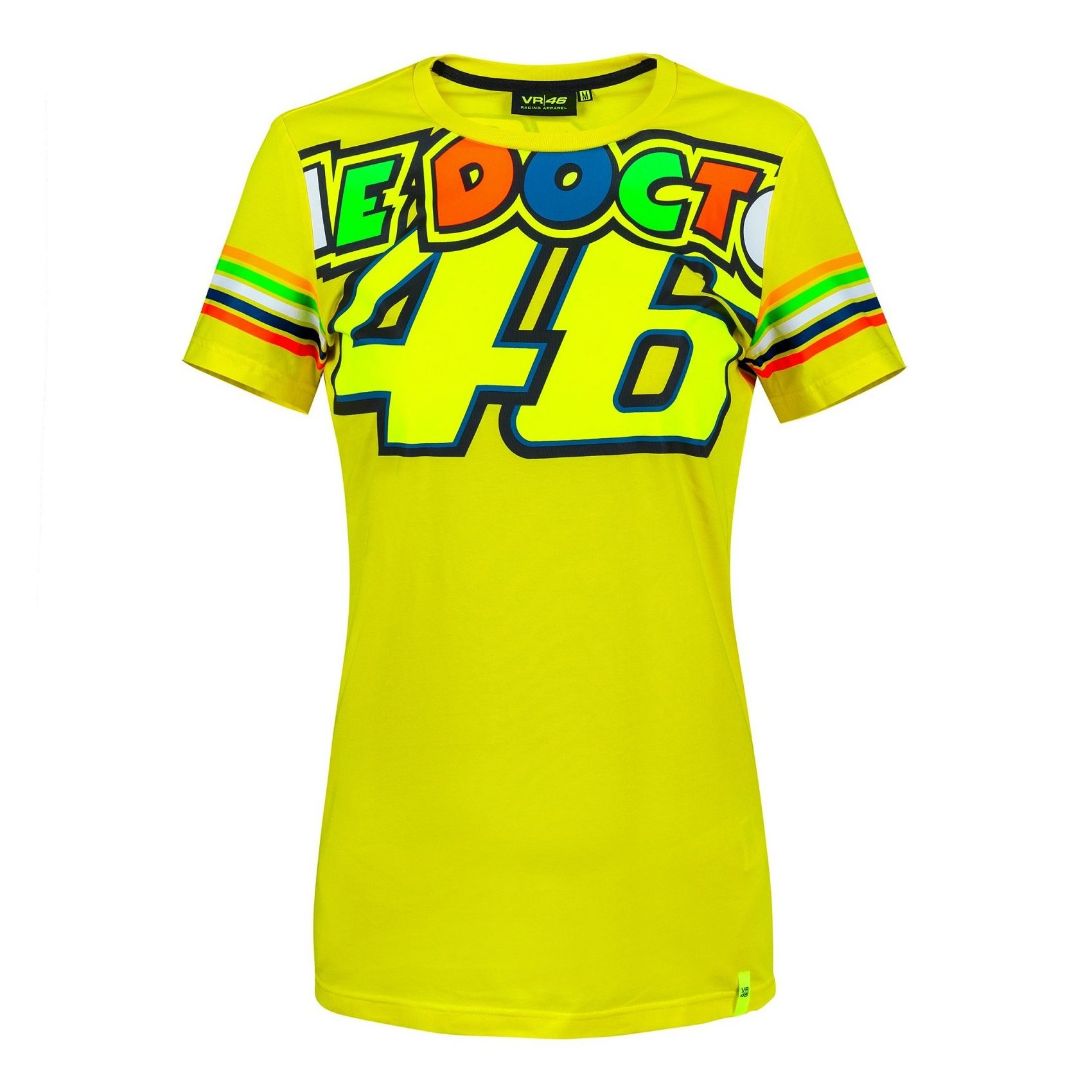 VR46 Dámské tričko The Doctor 2018 žlutá L