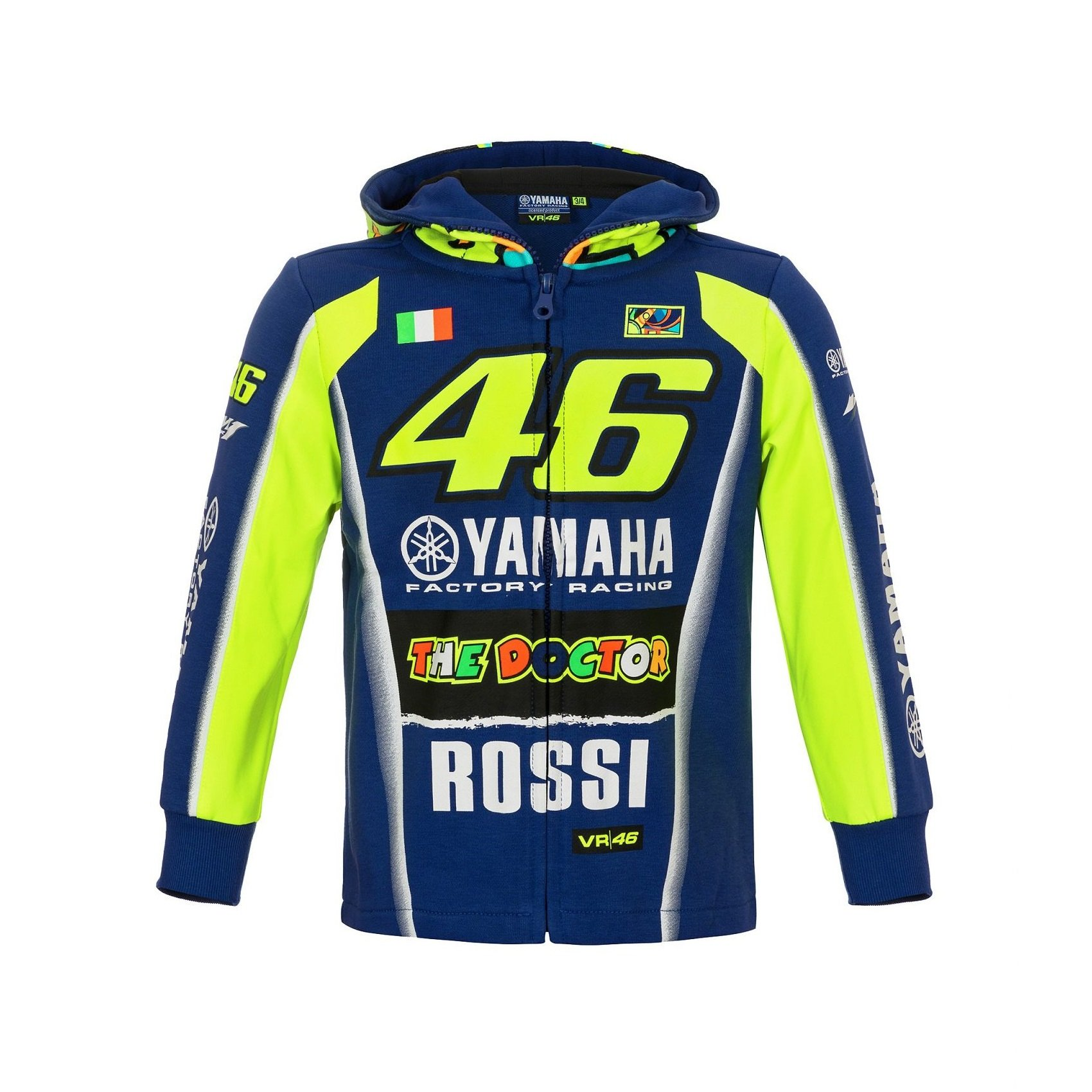 f608f34acc VR46 Valentino Rossi 46 The Doctor 2018 Blue 3-4 roky