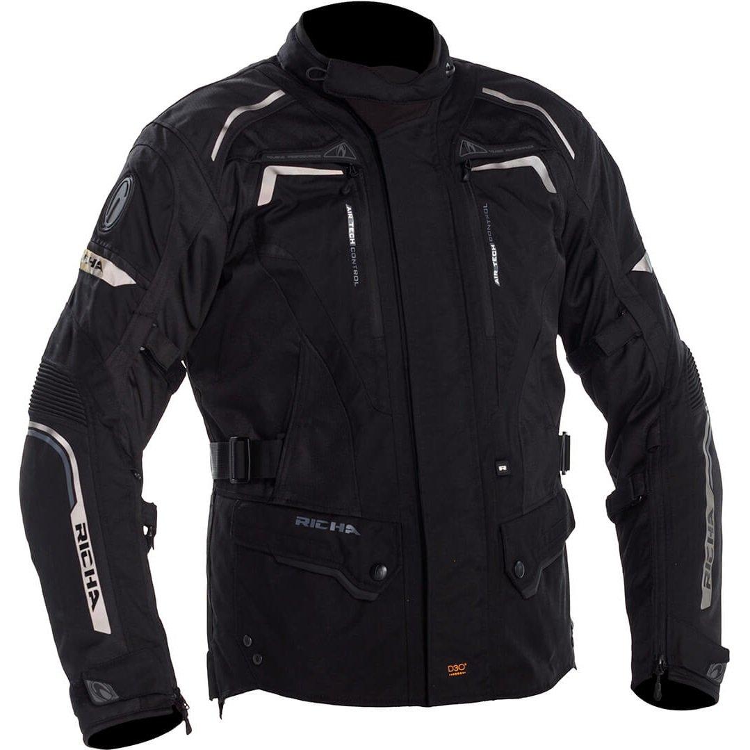 Pánská bunda Richa Infinity 2 černá 6XL