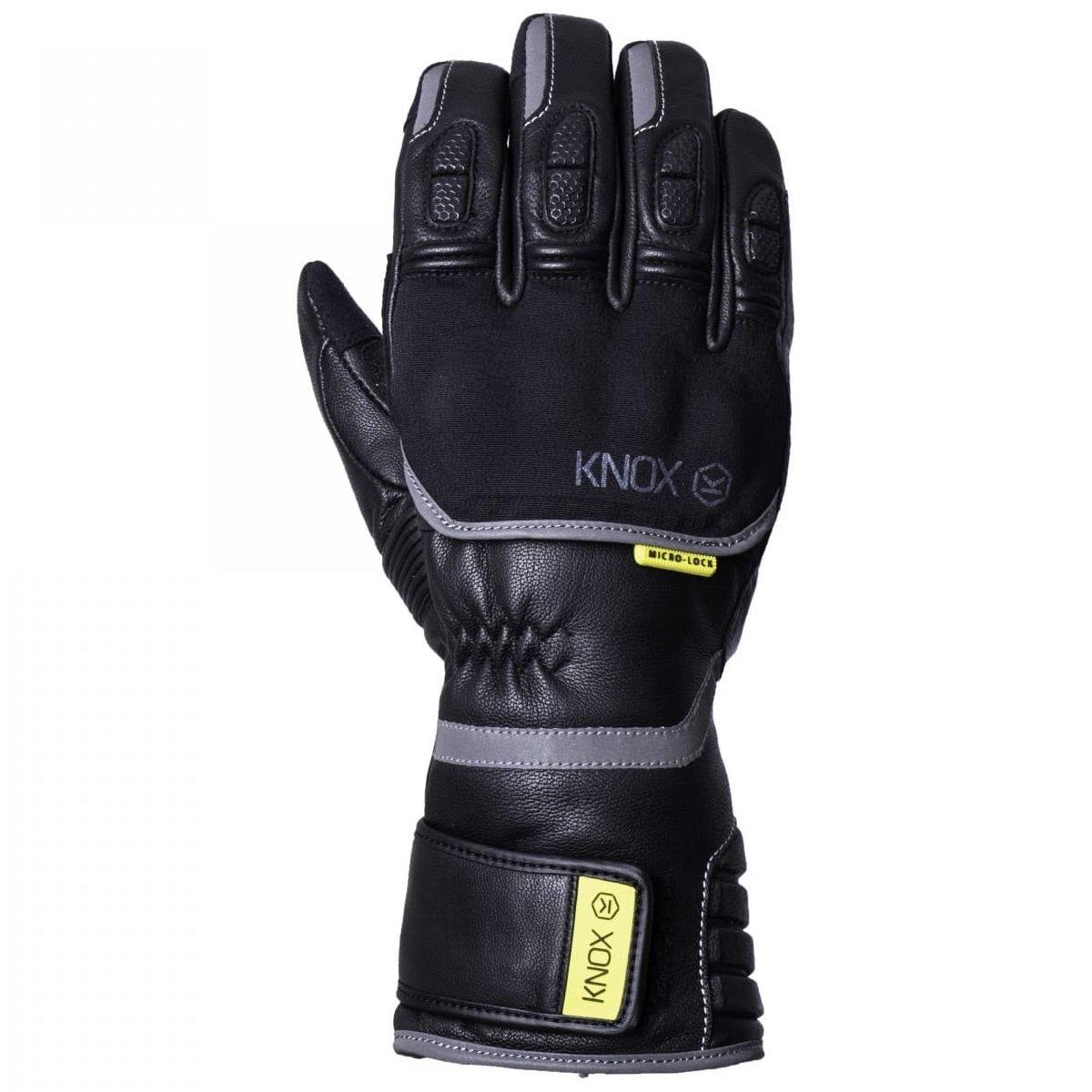Zimní rukavice Knox Zero 3 černá S