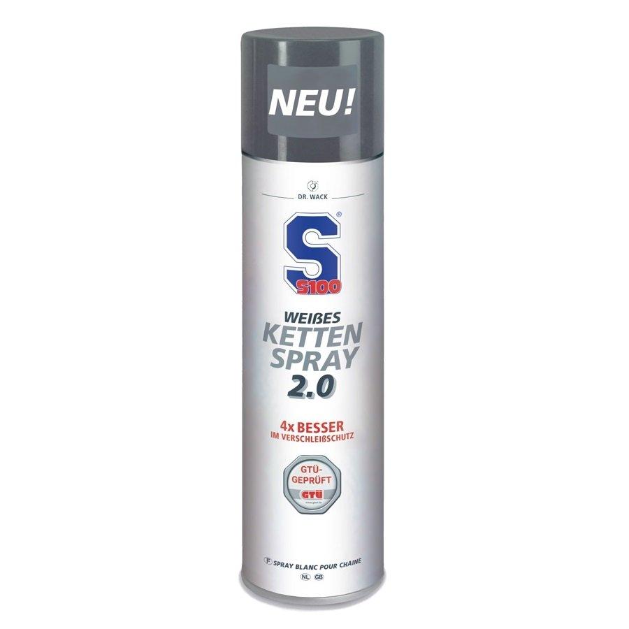 S100 White Chain Spray 2.0 400ml